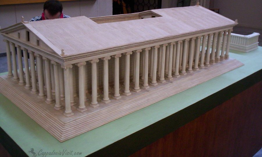 Макет храма Артемиды
