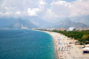 Анталия, Пляж Коняалты - Курорты Турции