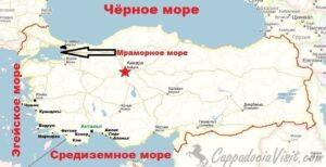 Наиболее популярные курорты и моря Турции