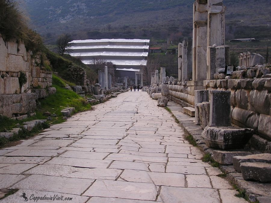 Мраморная улица в Эфесе
