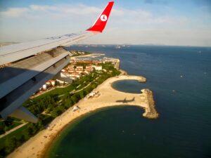 Посадка в Стамбуле Аэропорт Ататюрка