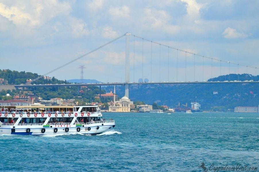 Прогулка на катере по Босфору - Стамбул