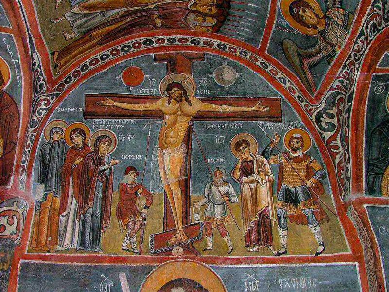 Распятие Иисуса Христа - Темная церковь
