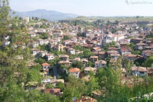 Сафранболу — вид на город с холма Хыдырлык
