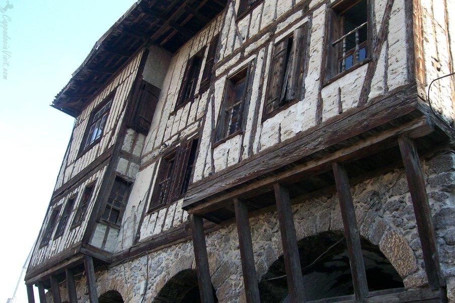 Дом - пример типичной османской архитектуры