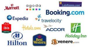 Разные сайты бронирования отелей