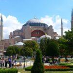 Самая популярная достопримечательность Стамбула - Собор Святой Софии