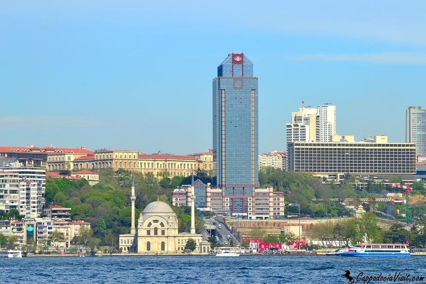 Лучшие отели Турции в Стамбуле на берегу Босфора