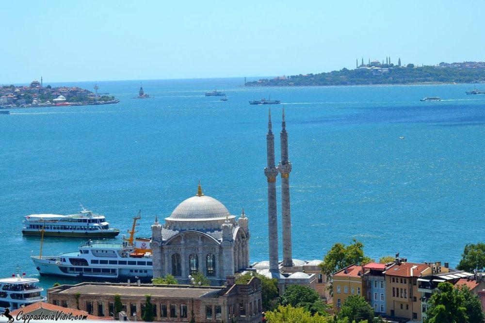 Стамбул - город, где встречаются два континента