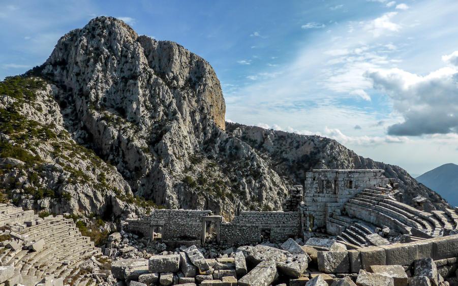 Руины Термессоса