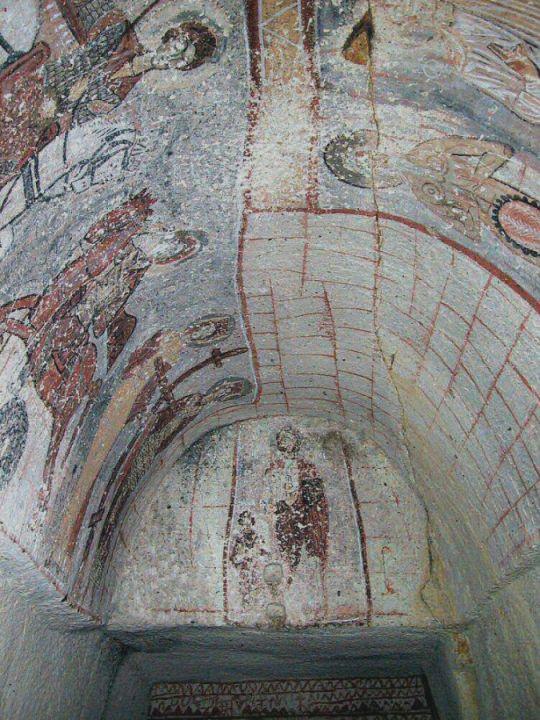 Церковь Иланли (Церковь со змеёй) в музее под открытом небом