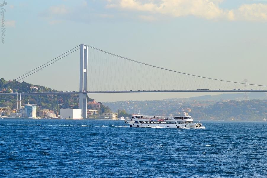 Первый мост через Босфорский пролив