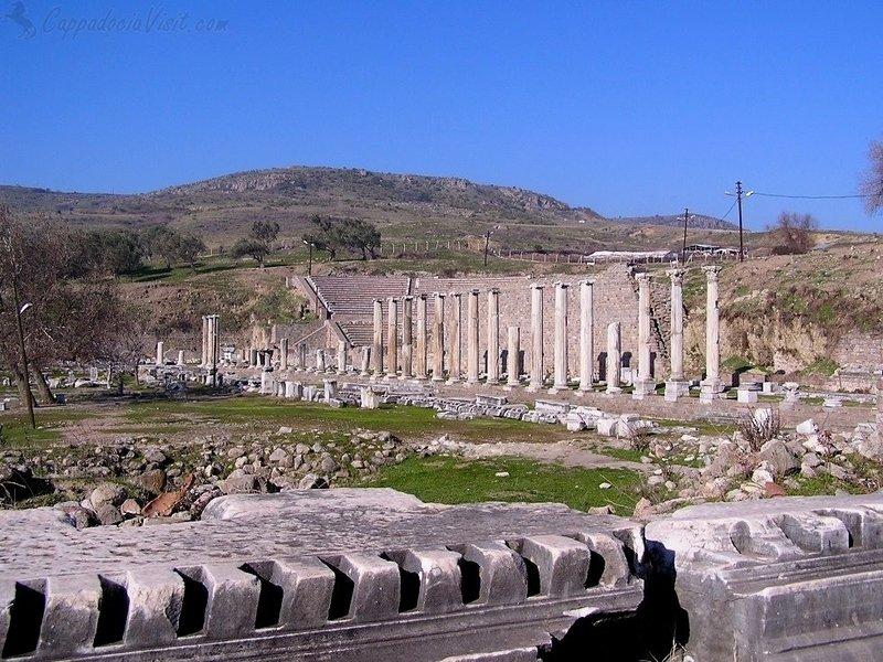 Руины Асклепиона Пергама