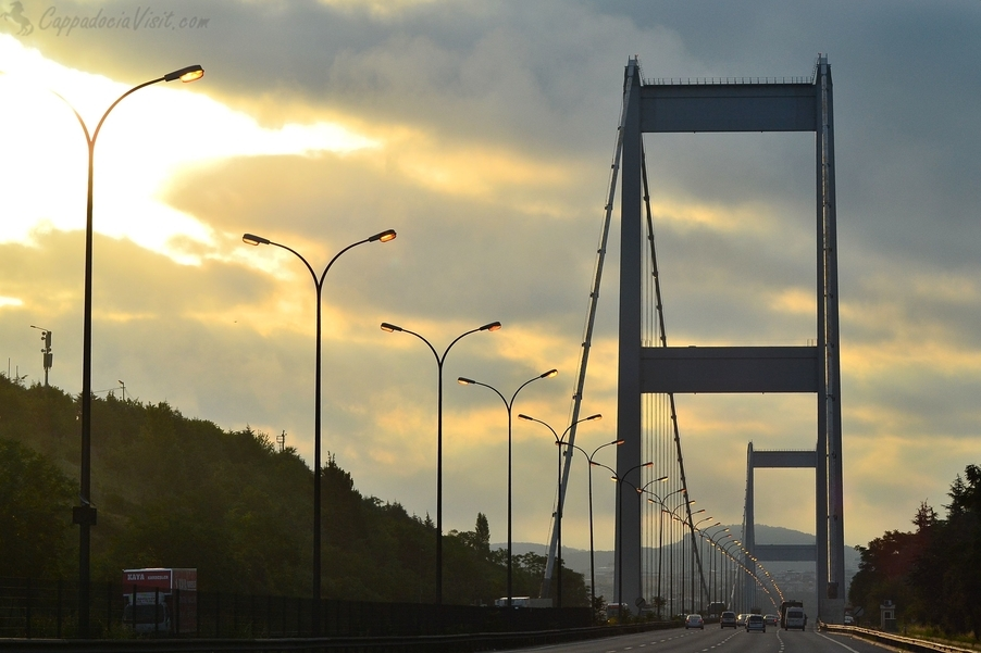 Второй мост через Босфор - Мост Султана Мехмеда Фатиха