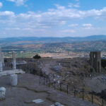 Пергам - вид на город Бергама с Акрополя