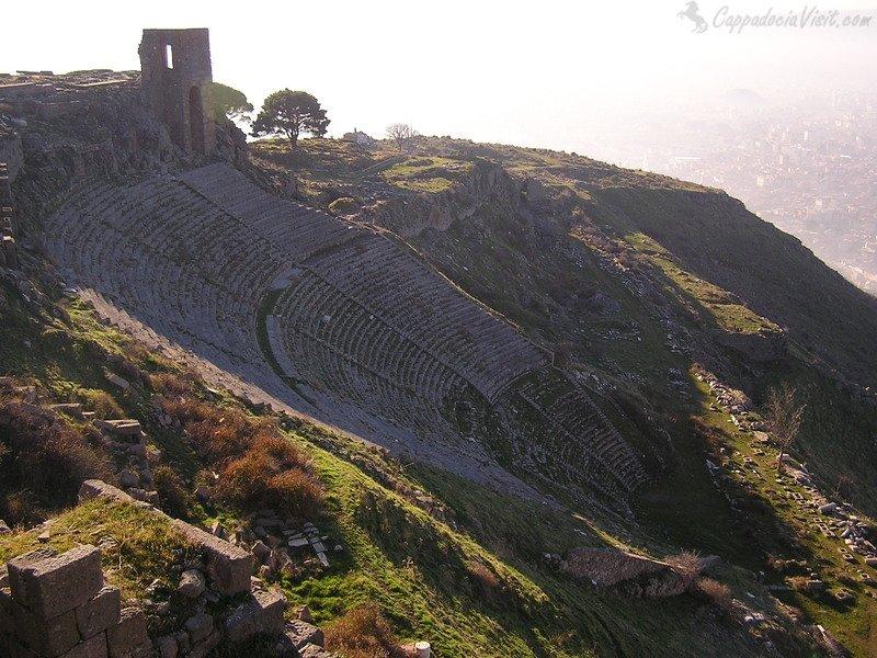 Пергамский Театр - самый отвесный в мире театр