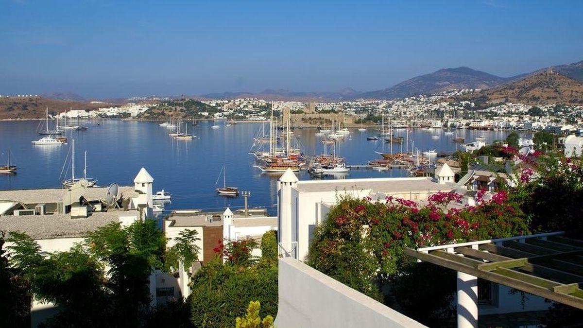 Бодрум - один из самых популярных курортов Турции