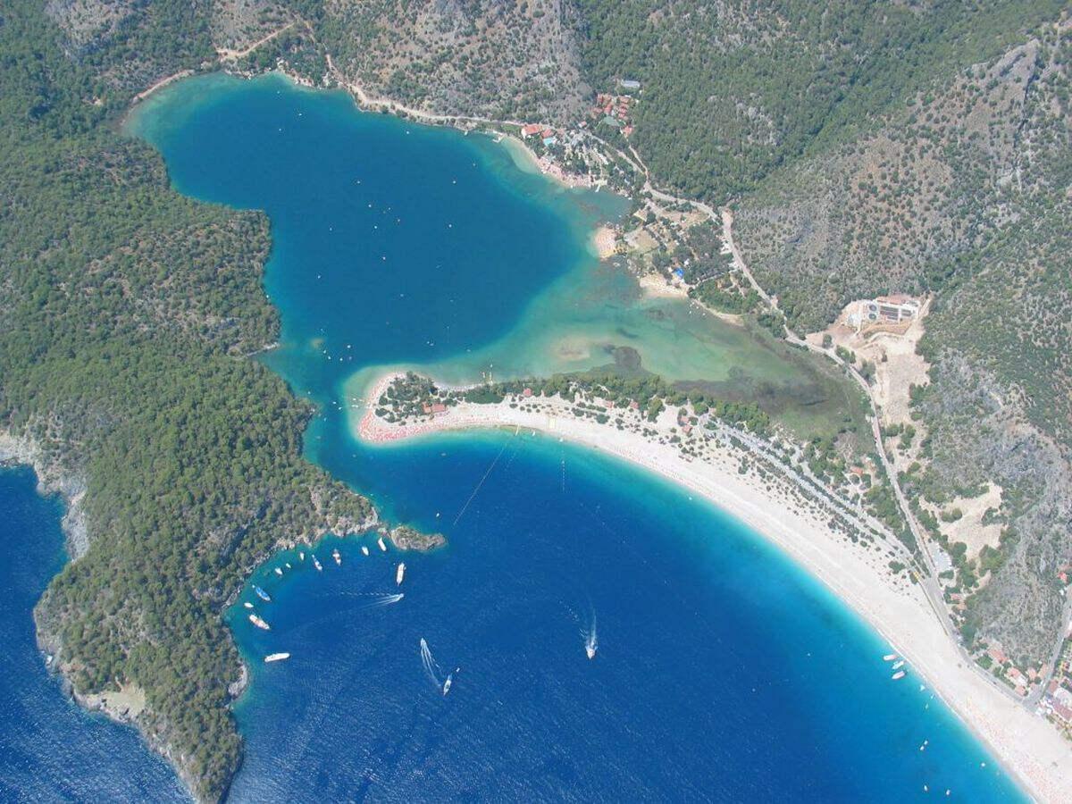 Бухта Олюдениз - Фетхие, Турция