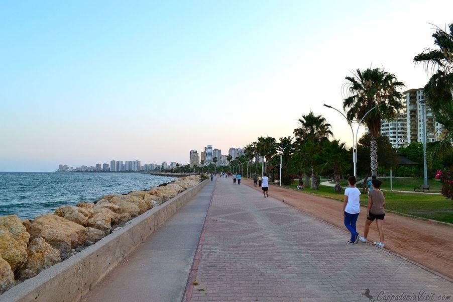 Мерсин - город-порт на средиземноморском побережье Турции