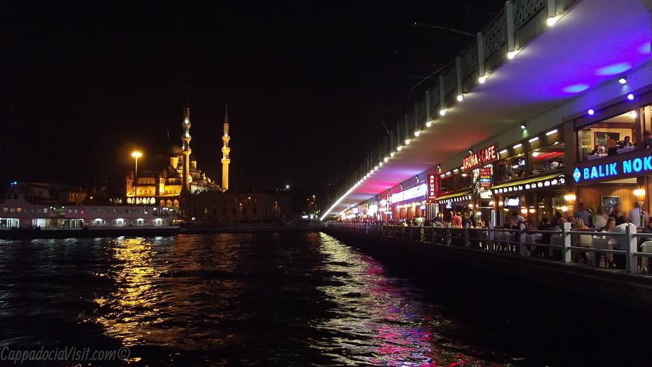 Галатский мост и Новая Мечеть - Стамбул