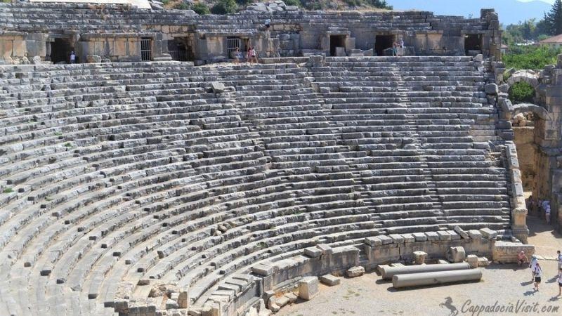 Греко-римский театр древнего города