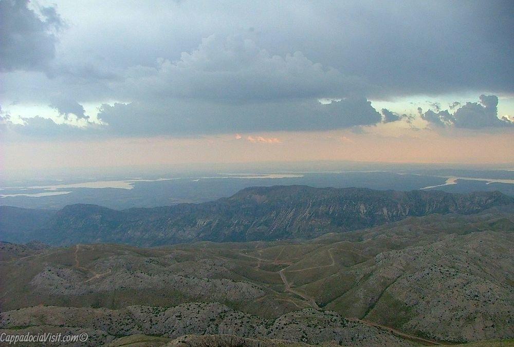 Восход - Вид с горы Немрут