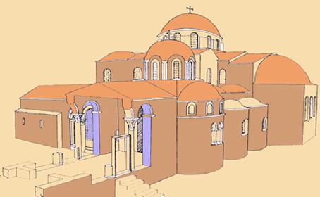 План церкви Святого Николая в Демре