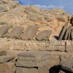 Западная терраса - рельефы предков Антиоха