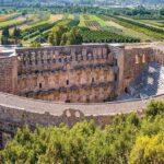 Театр Аспендоса - наиболее сохраненный театр в Турции