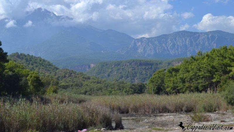 Гора Тахталы (Олимпос) и болото Фазелиса