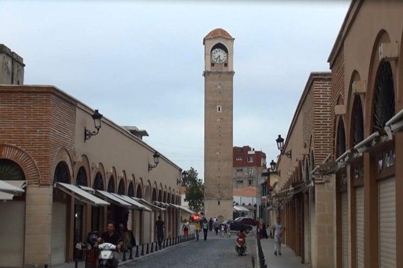 Бююк Саат Кулеси -часовая башня в Адане