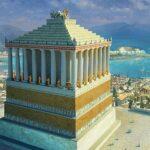 Мавзолей в Галикарнасе - реконструкция первоначального облика
