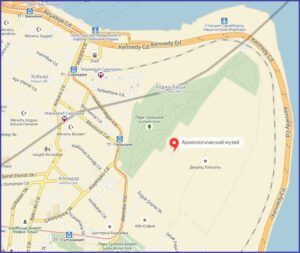 Археологический музейна карте Стамбула