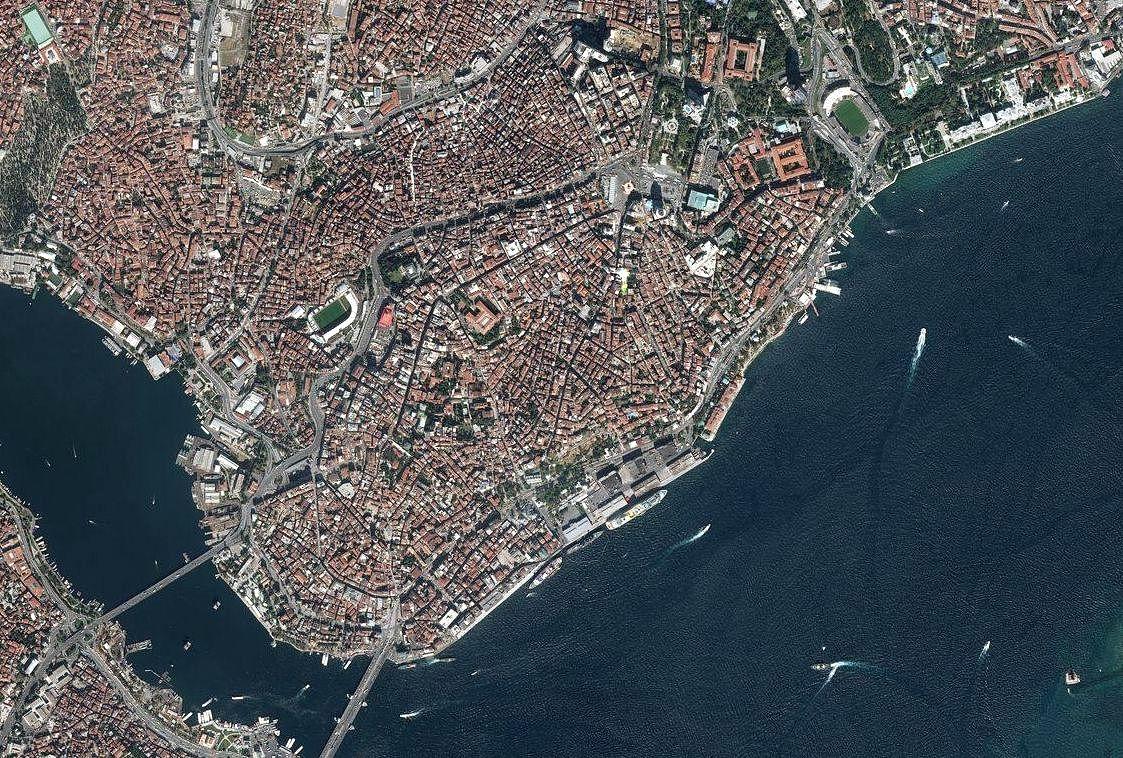 Бейоглу в Стамбуле - карта достопримечательностей