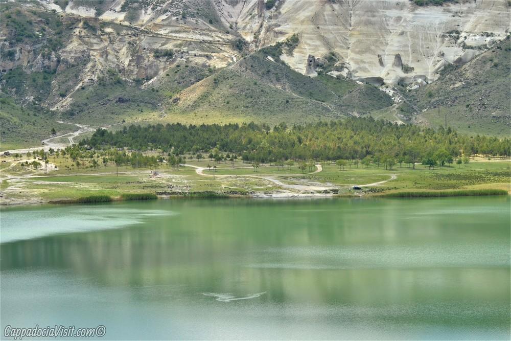 Озеро Нар в Каппадокии