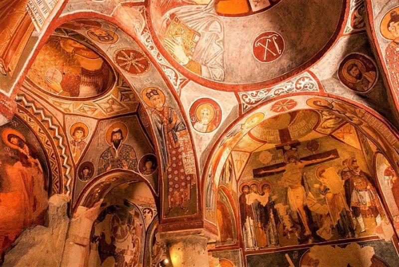 Церковь с яблоком (Elmalı Kilise)