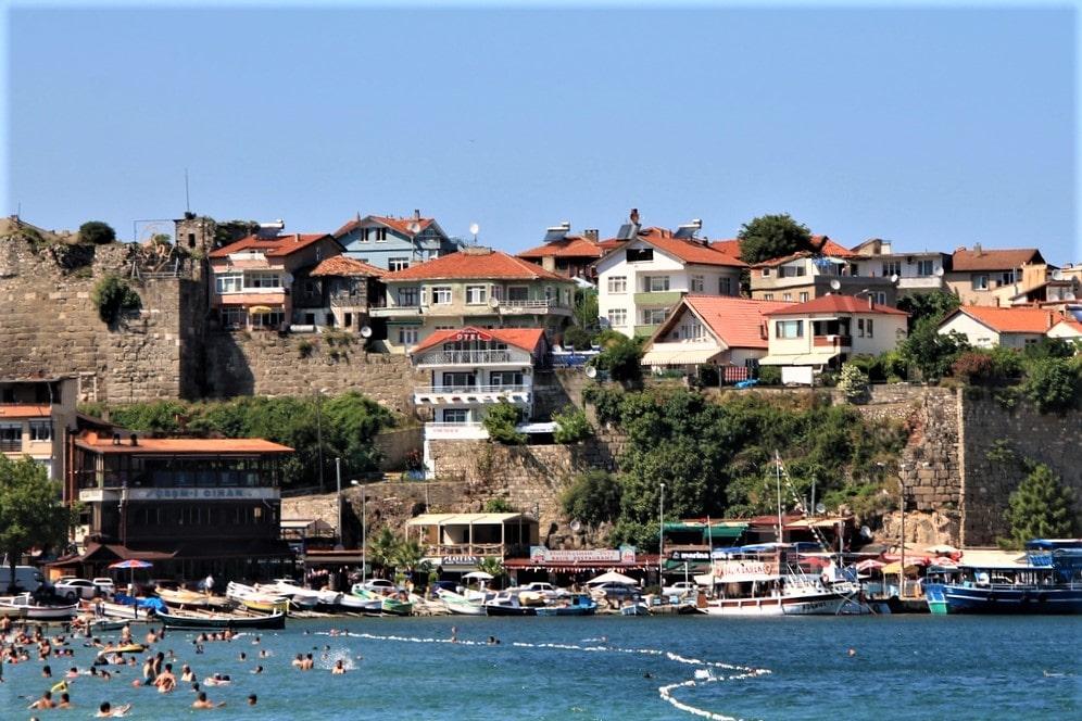 Амасра – небольшой курорт на черноморском побережье
