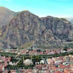 Город Амасья и гора Харшена