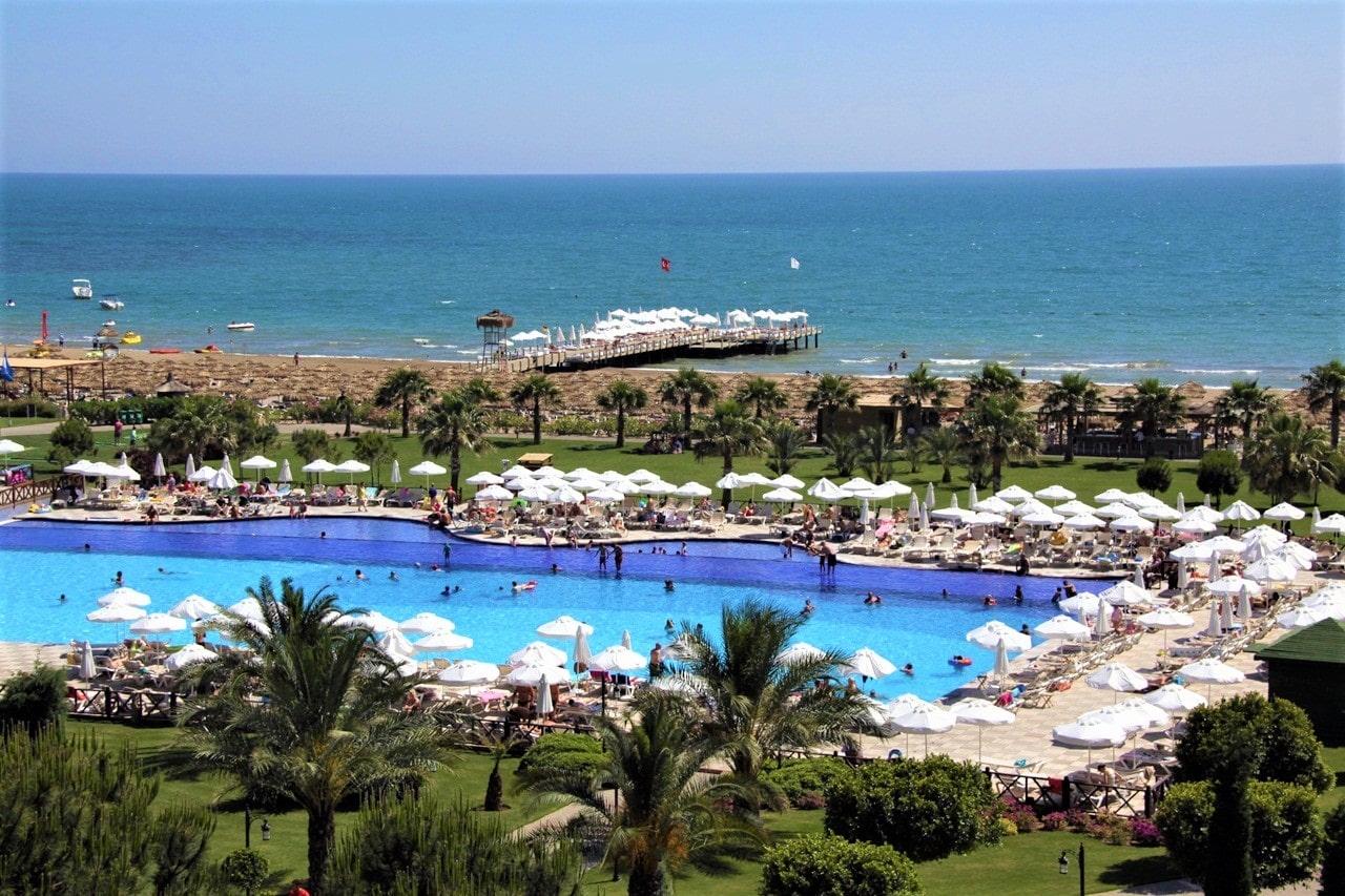 Белек - прстижный курорт на Средиземноморском побережье Турции