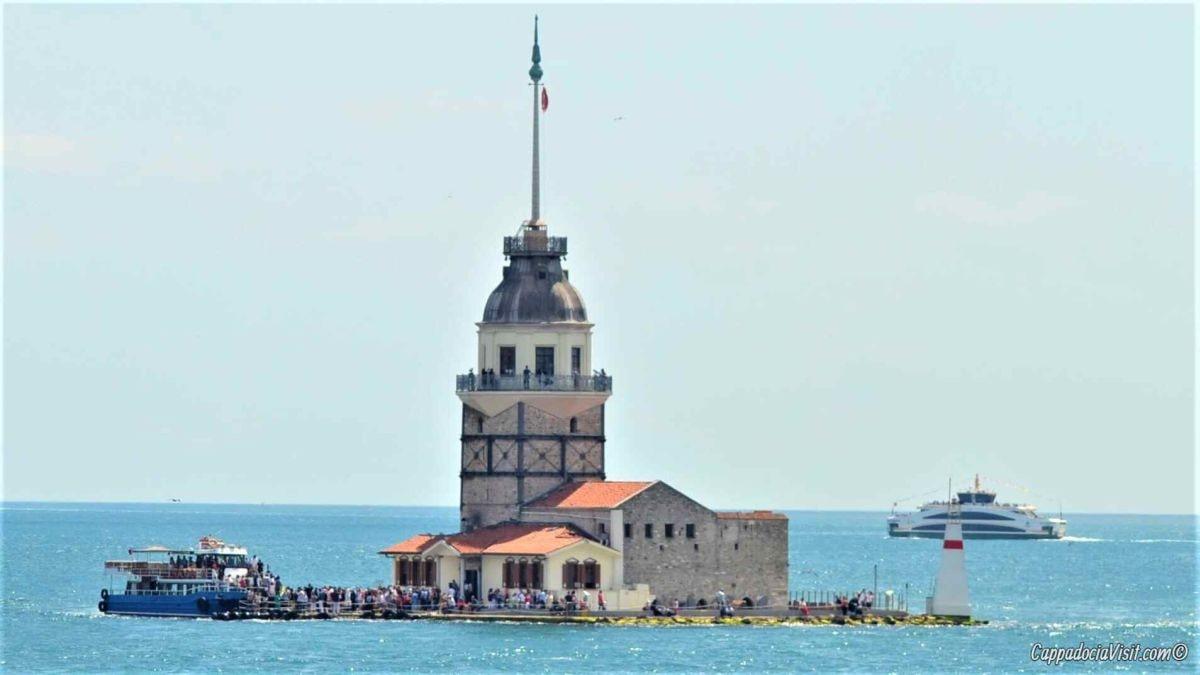 Башни Стамбула: Девичья, Галата и башня Беязит