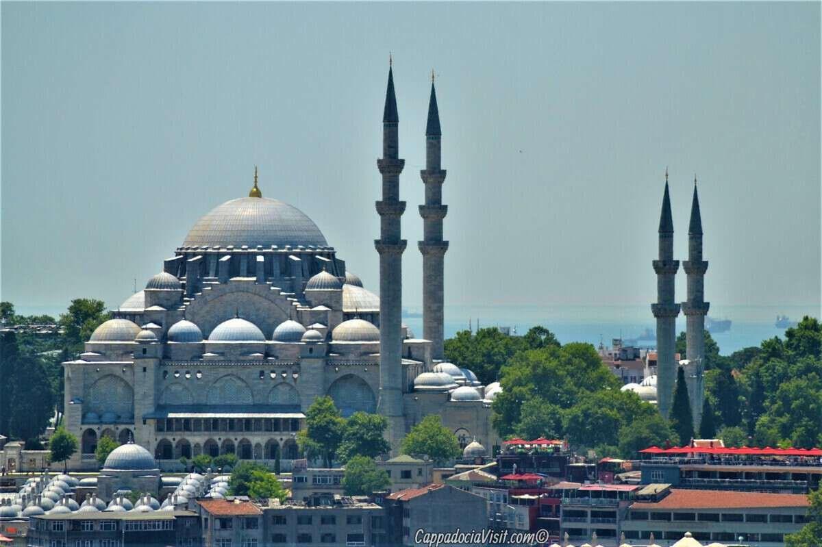Сулеймание - Мечеть Сулеймана Великолепного