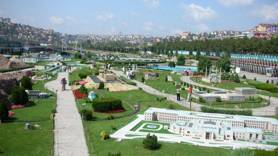 Парк Миниатюр в Стамбуле - Миниатюрк