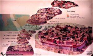Современная наука насчитывает 9 основных культурных слоев Трои