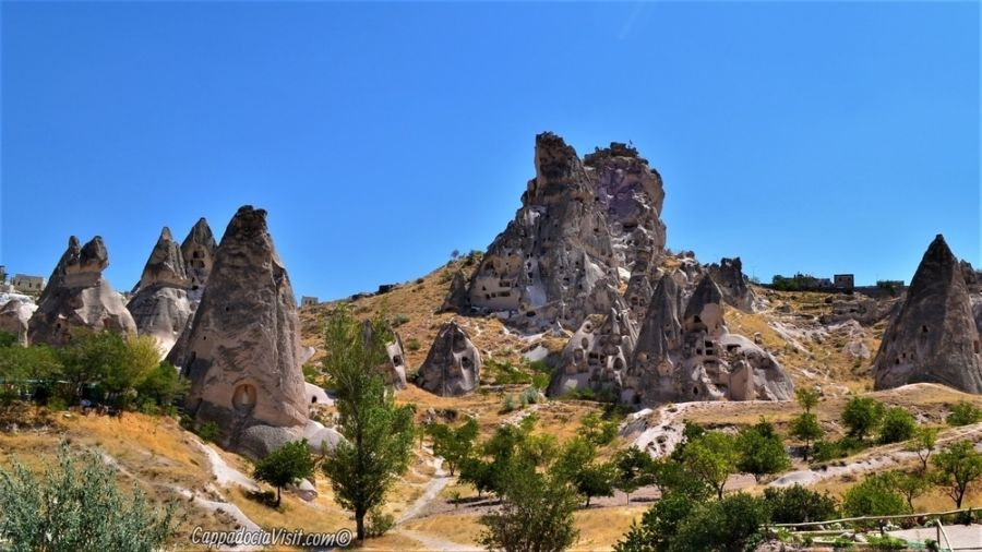 Город-крепорть Учхисар в Каппадокии
