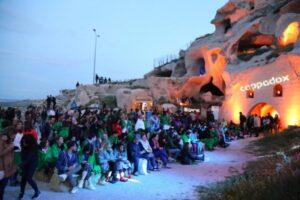 Фестиваль воздушных шаров -Фестиваль Cappadox в Каппадокии
