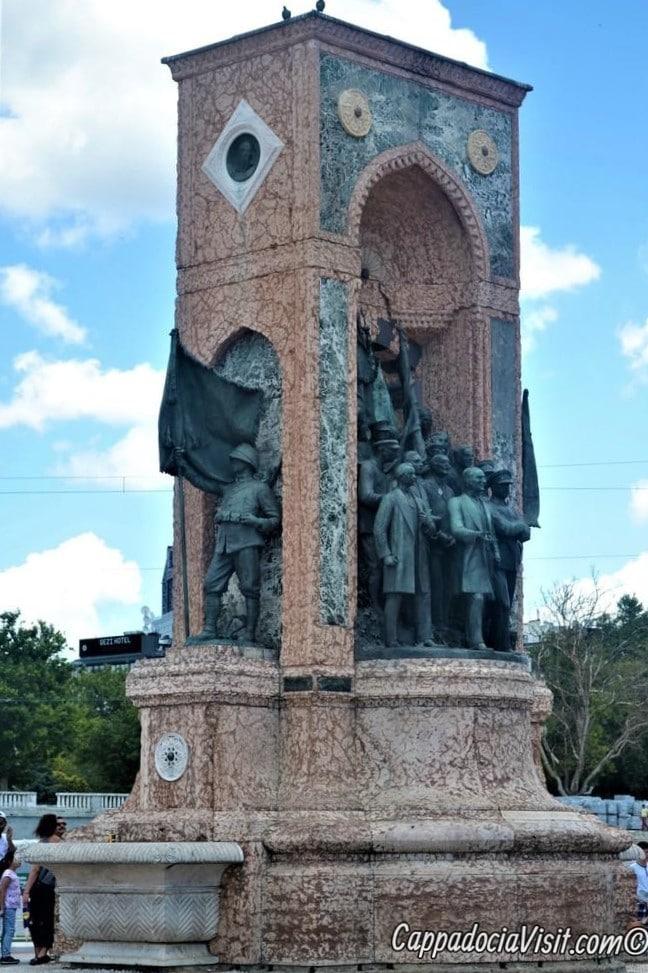 Площадь Таксим - Монумент Республики