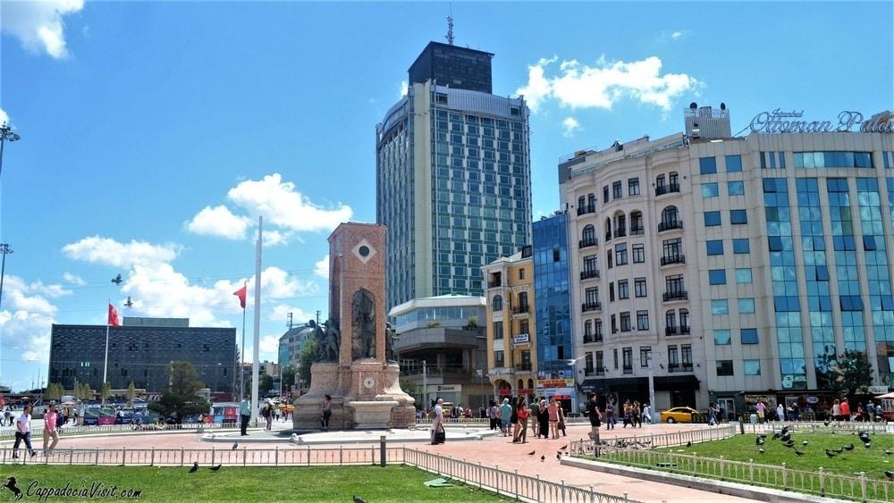 Площадь Таксим - Общий вид