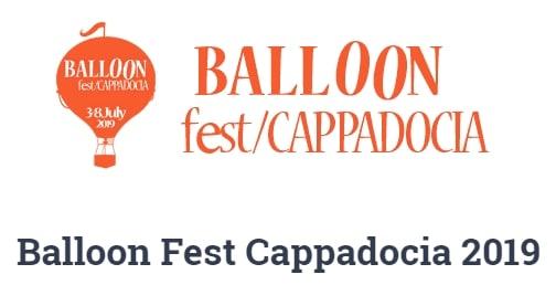 Фестиваль воздушных шаров Balloon Fest Cappadocia 2019