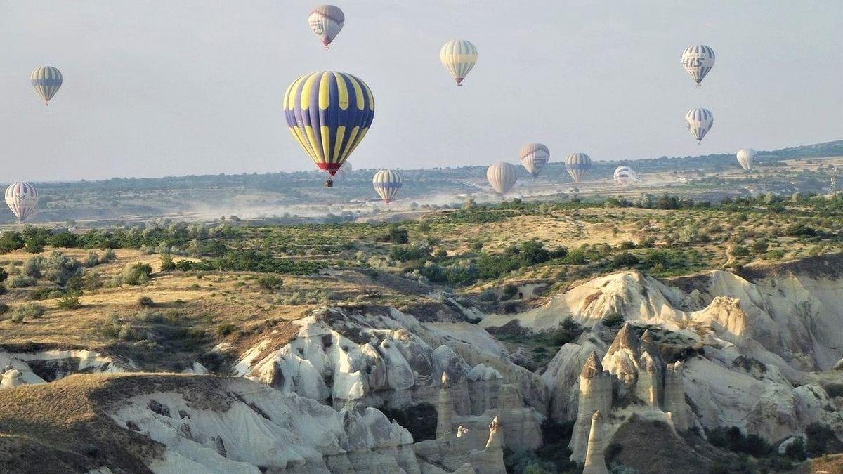 Обычное доброе утро в Каппадокии