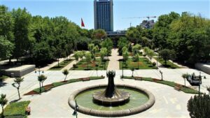 """Площадь Таксим - парк """"Гези"""""""
